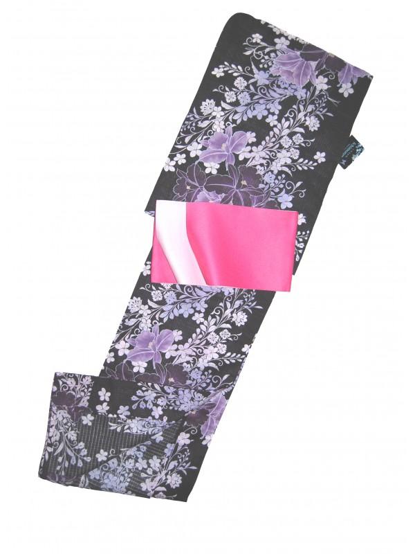 Yukata Kazumi con cintura Obi set abito giapponese