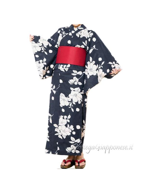 Yukata set completo di Cintura e Sandali [Yuko]