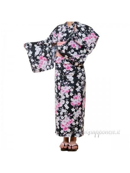 Yukata set completo di Cintura e Sandali [Kiki]