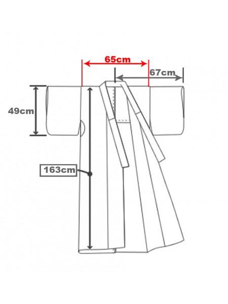 Yukata set completo di Cintura e Sandali [shiro]