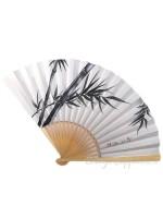 Sensu ventaglio Bambù dipinto a mano